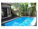 Sewa rumah Sanur 300m2 Denpasar,fully furnished,Swiming pool