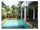 Rumah Disewa Kompleks Ekspatriat, Villa Palma Pejaten Barat, Kemang, Kav G
