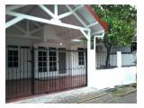 Disewakan Rumah siap Huni Klampis Semolo Timur Surabaya, bagus & strategis dekat jalan raya