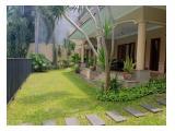 Disewa Rumah Mewah 5 Kamar 1115m2 - Kemang Timur, Jakarta Selatan