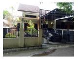 Rumah disewakan tampak depan
