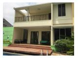 For Rent nice house fully furnised and nice pool at kemang