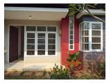 Sewa Rumah 4BR, 100m2 - Cibubur, Jawa Barat
