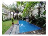 For Rent Single House at Kemang With Condition Semi Furnished & Private Pool - By Sava Jakarta Properti A0386
