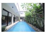 Sewa Rumah Senopati di Jalan Belitung - 5 Kamar Tidur 2 Lantai dan 1 Basement